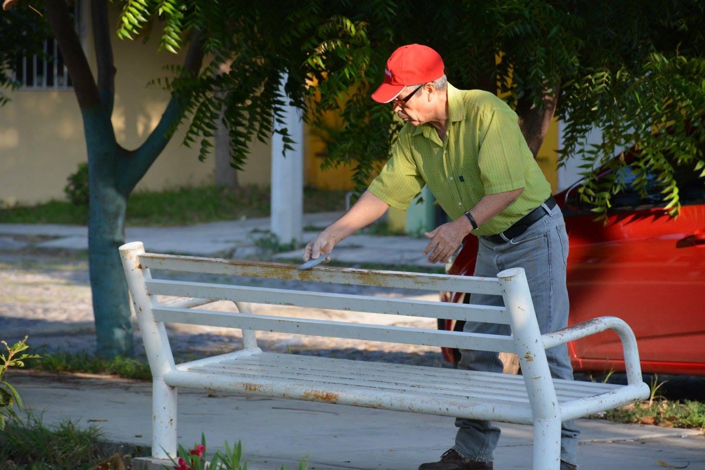 Brigada limpia la villa jard n el tri ngulo en villas for Jardin de villa de alvarez