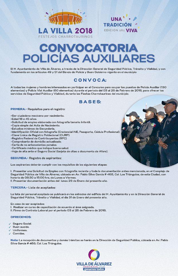 Contratará Villa de Álvarez 190 elementos auxiliares para Festejos ...
